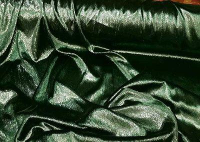βελούδο σιφόν λαμέ πράσινο