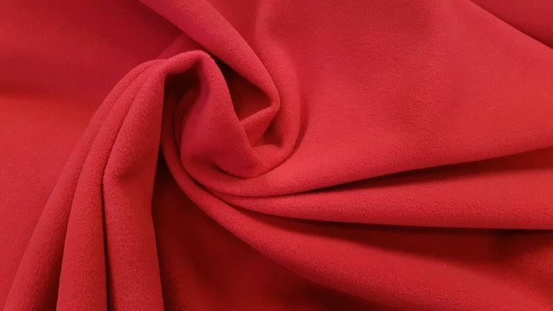 υφασμα παλτο κοκκινο