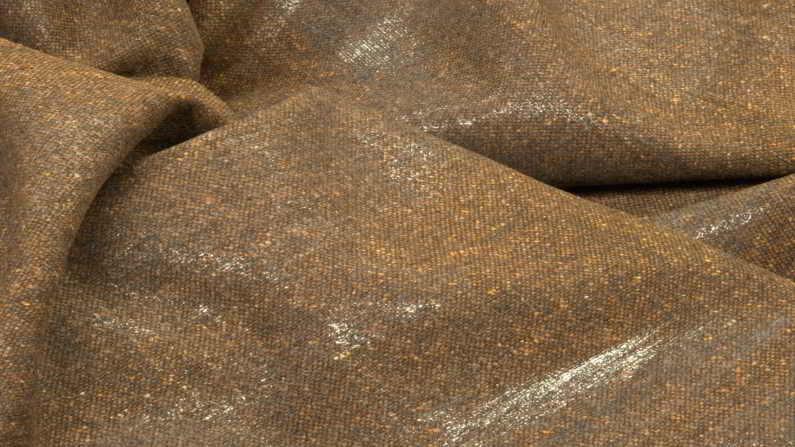 Κοστούμι σακάκι tweet τουίτ ύφασμα καφέ
