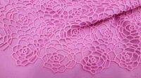 Δαντέλα μακραμέ Ροζ Indien