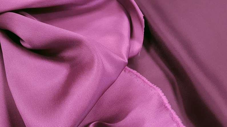Σατέν ντουσέζ μπορντώ-φούξια χρώμα 11