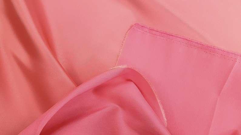 Σατέν ντουσέζ κοραλί φόρεμα φούστα ταγέρ