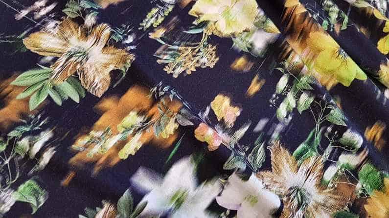 Bamboo digital print