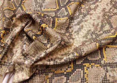 Σχέδιο φίδι δερματίνη