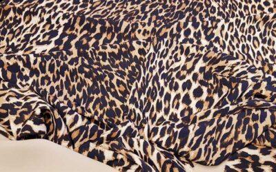 Μουσελίνα  Μαροκέν Animal print