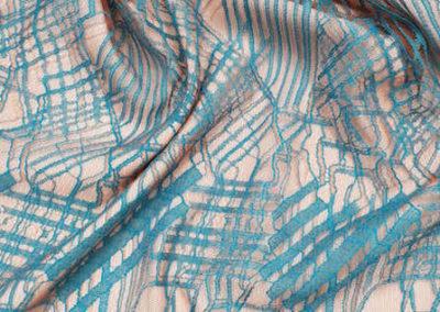 Δαντέλα σαντισύ πετρόλ χρώμα